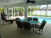 Ferienhaus Villa Palm Island mit großem Pool